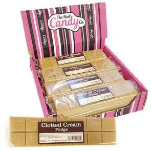 The Real Candy Co Clotted Cream Fudge 150g (UK)