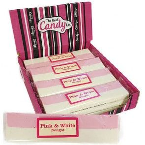 The Real Candy Co Pink & White Nougat 150g (UK)
