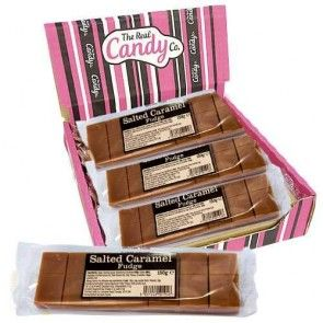 The Real Candy Co Salted Caramel Fudge 150g (UK)