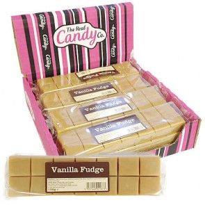 The Real Candy Co Vanilla Fudge 150g (UK)