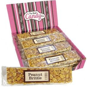 The Real Candy Co. Peanut Brittle Bars 100g (UK)