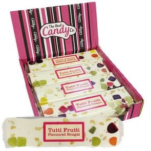 The Real Candy Co. Tutti Frutti Nougat Bar 150g (UK)