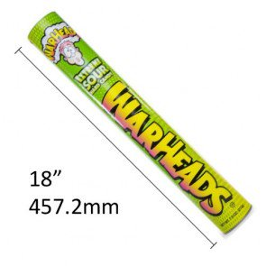Warheads Extreme Sour Giant Gift Tube 46cm (US)
